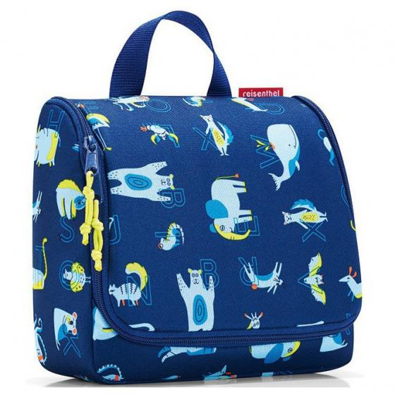 cosmetics toiletbag / Kulturbeutel abc friends blue