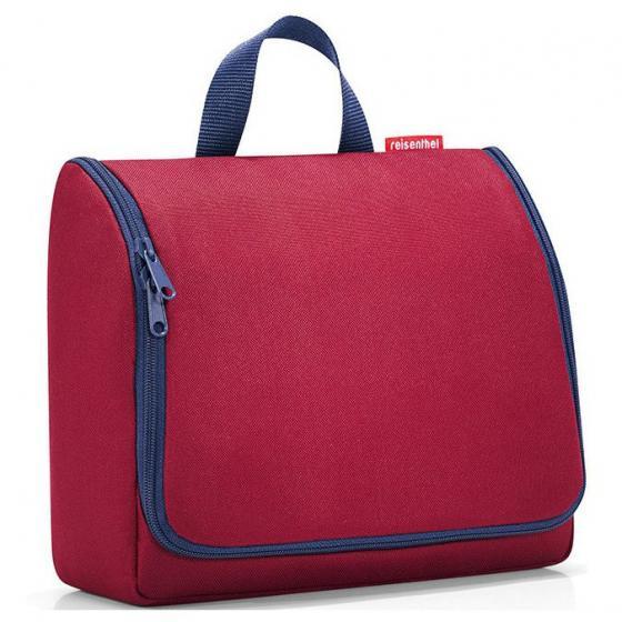 cosmetics toiletbag XL / Kulturbeutel 28 cm dark ruby