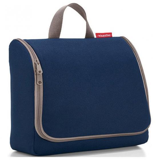 cosmetics toiletbag XL / Kulturbeutel 28 cm dark blue