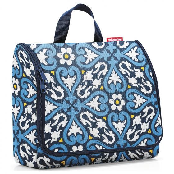 cosmetics toiletbag XL / Kulturbeutel 28 cm floral 1