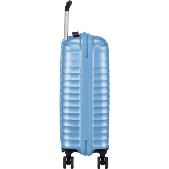 Jetglam 4-Rollen-Kabinentrolley S 55/20 cm metallic blue
