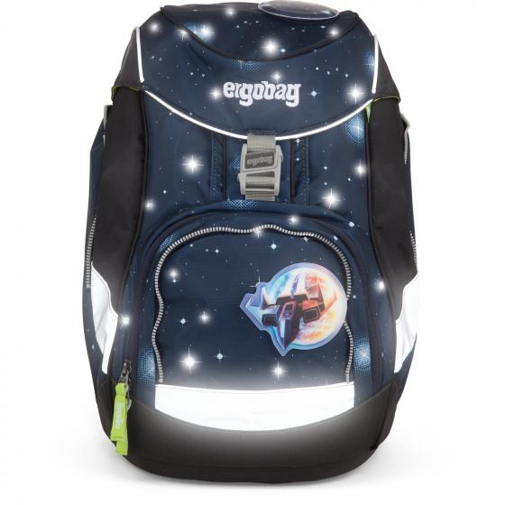 Ergobag Sporttasche Schule Reisetasche Kinder 40 cm bärgasus glow lila galaxie