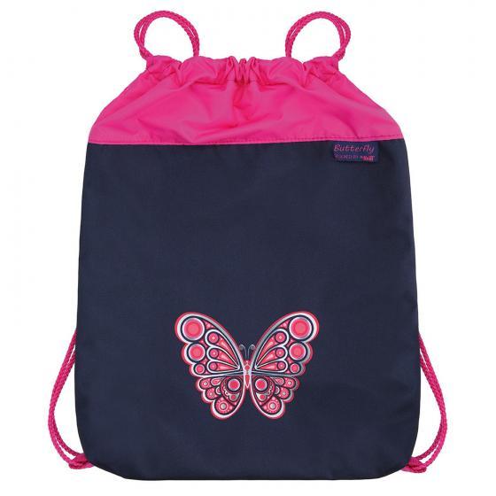 Ergo Mac Schulranzen Set 4 tlg. Butterfly