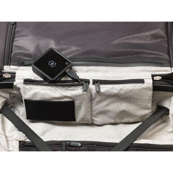Lexicon Frequent Flyer Hard Side  4-Rollen-Kabinentrolley 55 cm titanium