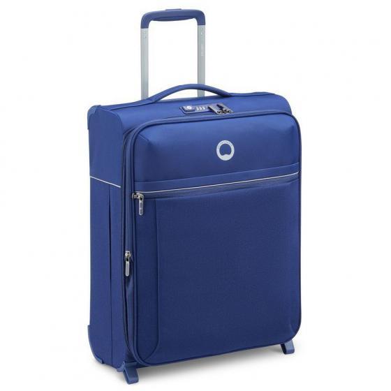 Brochant 2.0 2-Rollen-Kabinentrolley Slim Line 55 cm erweiterbar blue