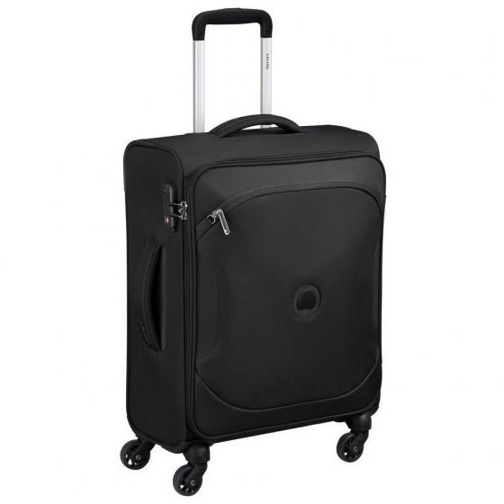 Ulite CL3 4-Rollen-Kabinentrolley Slim S 55 cm black