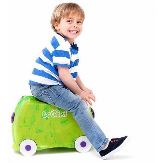 Ride-On Koffer befahrbarer Kindertrolley 46 cm Rex