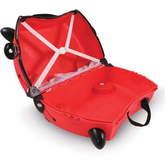 Ride-On Koffer befahrbarer Kindertrolley 46 cm Marienkäfer Harley