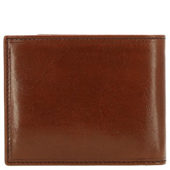 Story Uomo Kreditkartenbörse Leder 11 cm marrone