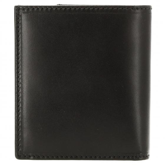 Story Uomo Kreditkartenetui Rindleder 10 cm schwarz
