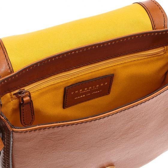 Murakami Handtasche Kalbleder 20 cm marrone