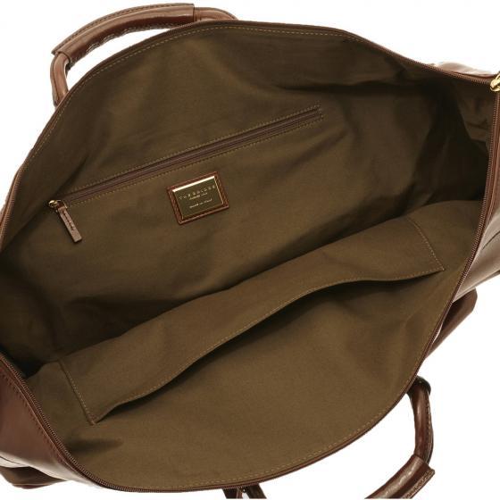 Story Viaggio Reisetasche Leder 50 cm brown