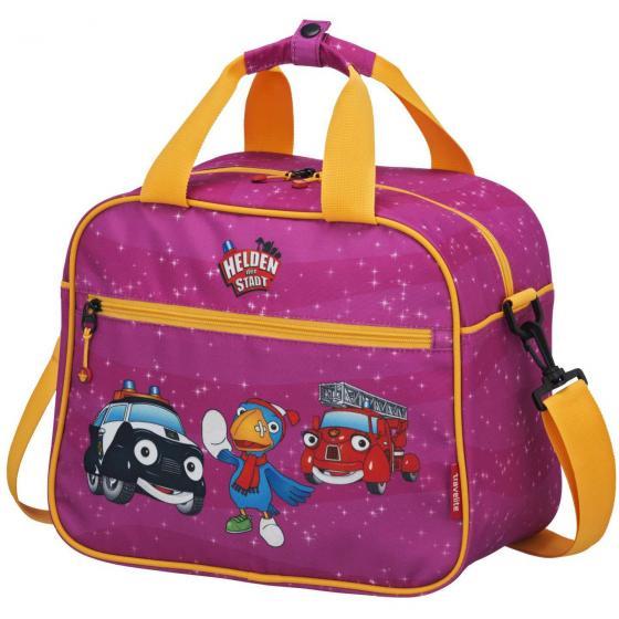 Helden der Stadt kleine Reisetasche 30 cm pink