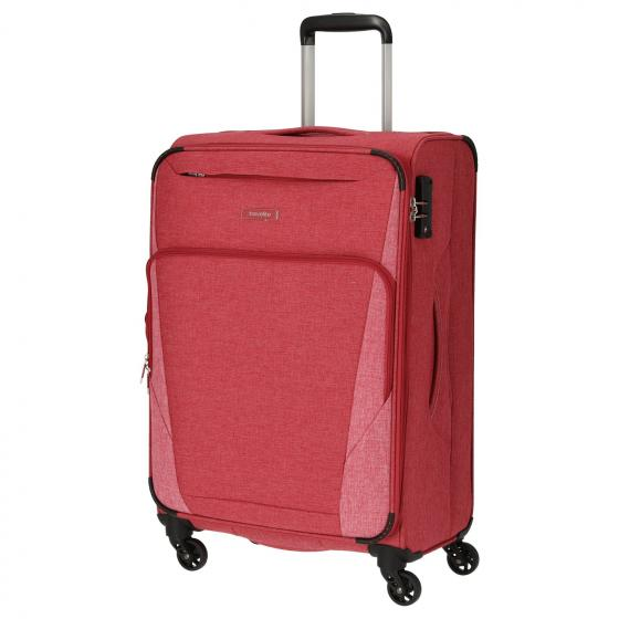 Jakku 4-Rollen Trolley erw. M 67 cm red