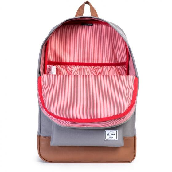 Heritage Backpack 45 cm grey/tan synthetic leather