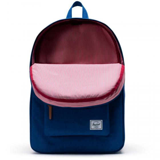 Heritage Backpack 45 cm monaco blue crosshatch