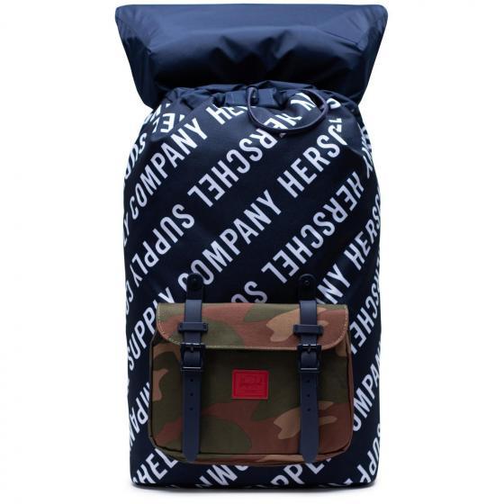 Little America Backpack 25 l 49.5 cm roll call peacoat/woodland camo