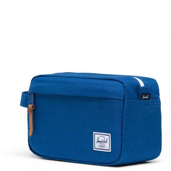 Chapter Travel Kit Kulturbeutel 24 cm monaco blue crosshatch