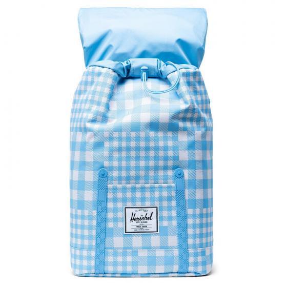 Retreat Backpack 43 cm retreat gingham alaskan blue