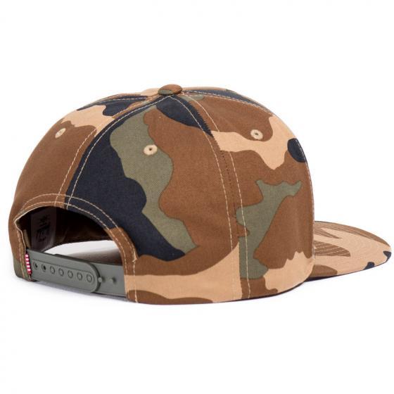 Headwear Whaler HAT Cap woodland camo