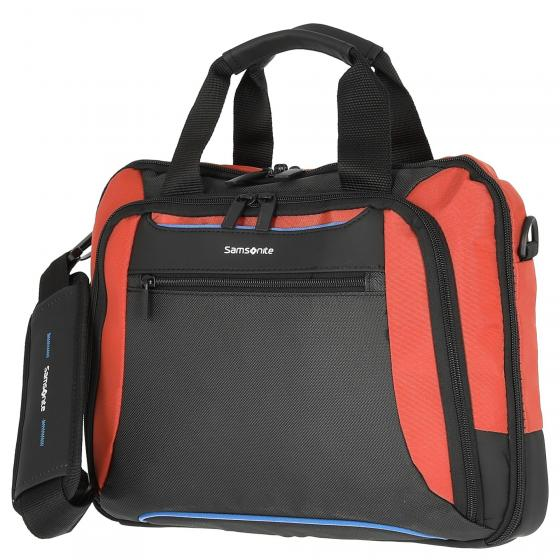"Kleur Laptop Bailhandle 14.1"" Laptoptasche 37 cm orange/anthracite"