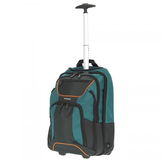 "Kleur Laptop Backpack Rucksacktrolley 17.3"" 48 cm green/dark green"