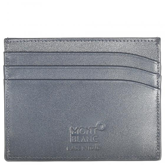 Meisterstück Kreditkartenbörse 6 cc 10 cm navy