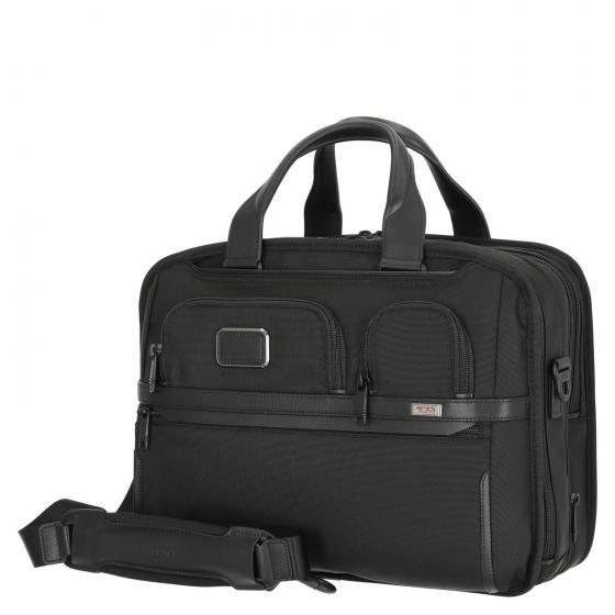 Alpha3 T-P Laptop Brief Businesstasche 40.5 cm erweiterbar black