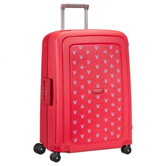 S Cure Disney 4-Rollen-Trolley M 69 cm Mickey Summer red