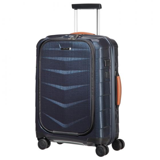Lite-Biz 4-Rollen-Kabinentrolley S 55 cm  USB midnight blue