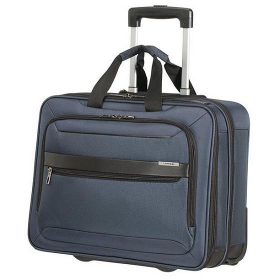 "Vectura Evo Businesstrolley 17.3"" 46 cm blue"