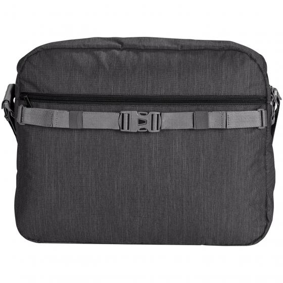 Recycled torPET II Schultertasche 43 cm black