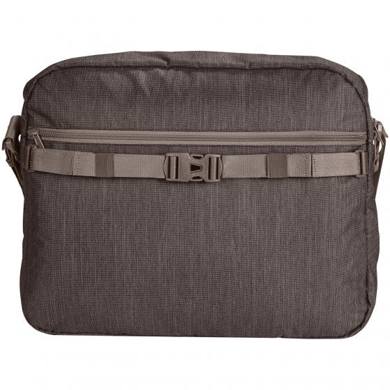 Recycled torPET II Schultertasche 43 cm coffee