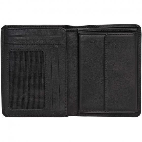 Polo Kombischeintasche 11,5 cm schwarz