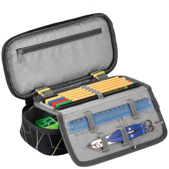PencilDenzel Schlamperetui 24 cm Laserbeam Black