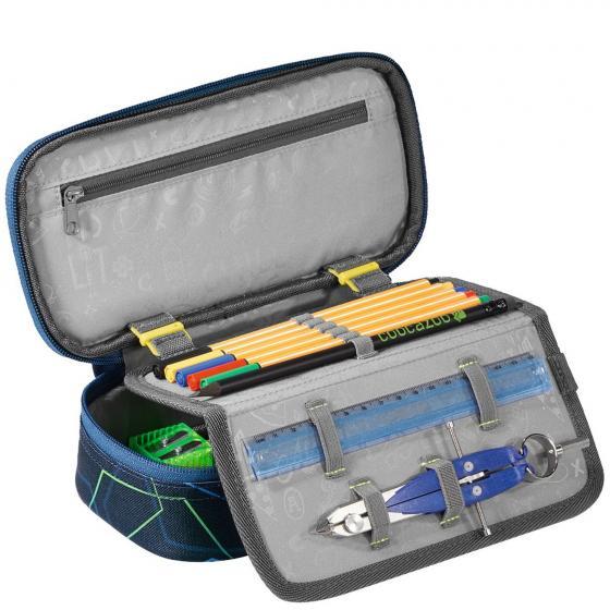 PencilDenzel Schlamperetui 24 cm Laserbeam Blue