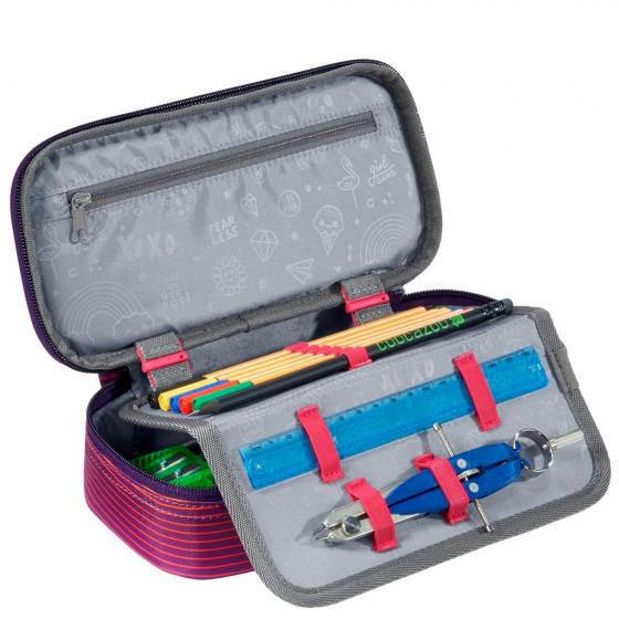 PencilDenzel Schlamperetui 24 cm Soniclights Purple