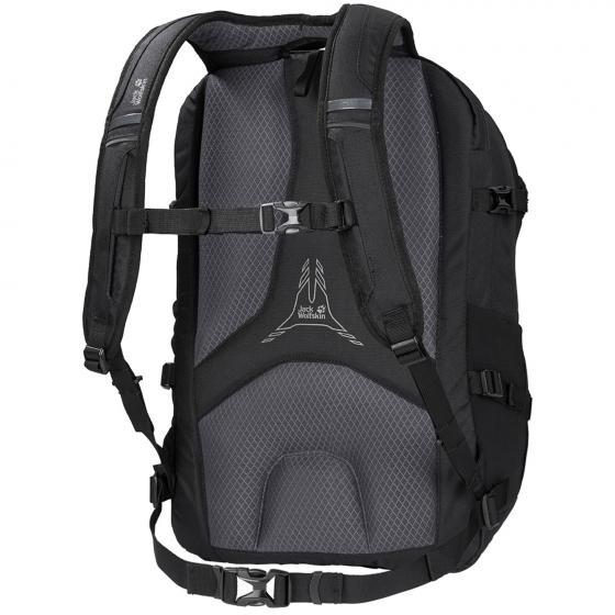 """Everyday Outdoor Jack.Pot De Luxe Rucksack mit Laptopfach 15""""/10"""" 48 cm black"""