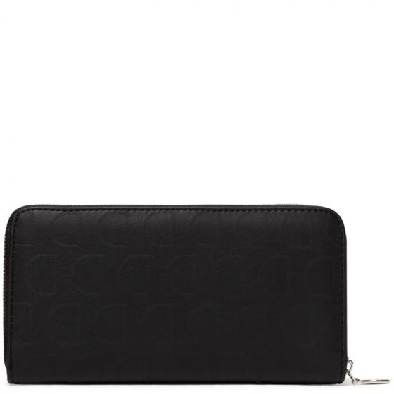 Mone Lazarus Zip Around Börse 19 cm negro
