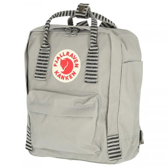 Kanken Mini Rucksack 29 cm navy-long stripes