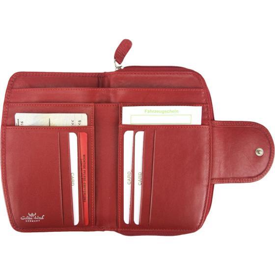 Polo RV-Damenbörse 14,5 cm rot