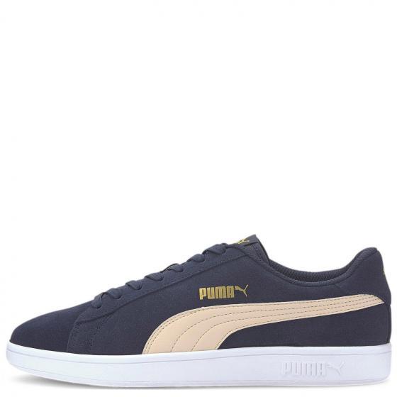 Unisex Smash v2 Sneaker Schuh 364989 44 1/2   peacoat-tapioca-puma gold-puma white