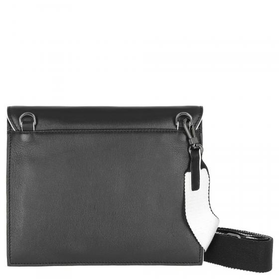 Kissi Cross Shoulder Bag Umhängetasche 26 cm black
