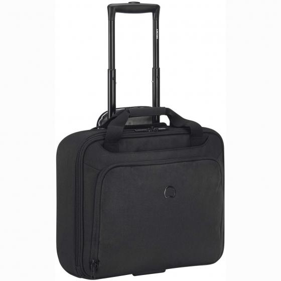 Esplanade Bordcase 1 Fach PC 2-Rollen Businesstrolley 42 cm tiefschwarz