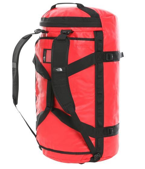 Base Camp Duffel / Reisetasche - L red/black