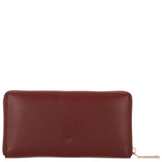 W Nausica Melete Geldbörse 18.5 cm dark red