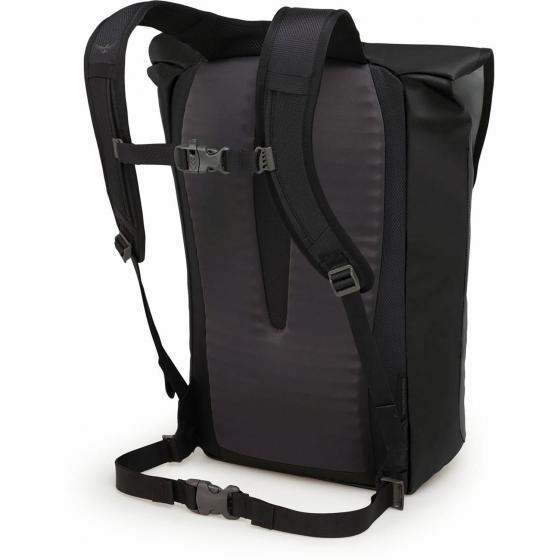 Transporter Flap Laptop-Rucksack 45 cm black
