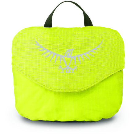 Ultralight High Vis Regenschutz electric lime XS 10-20 Liter