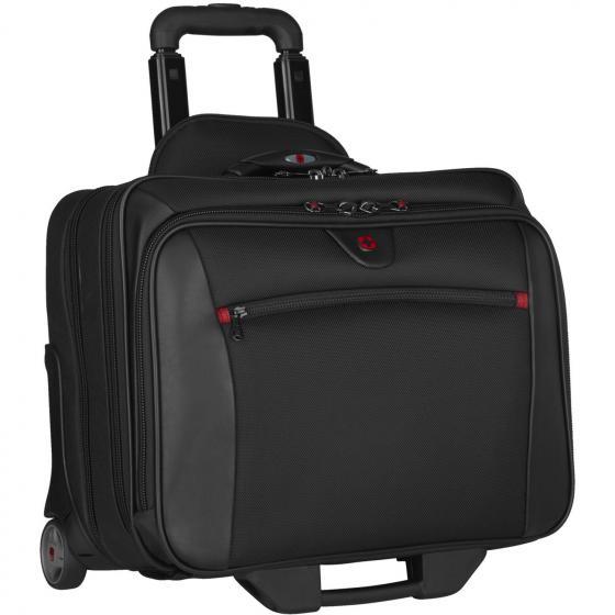 "600661 Potomac 2-Rollen Laptoptrolley 43 cm 17"" black"