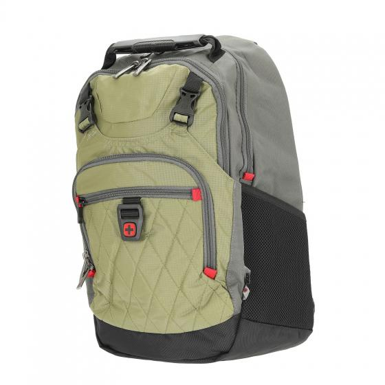 "602661 Priam Laptoprucksack 15.6"" 24 l 44 cm green"